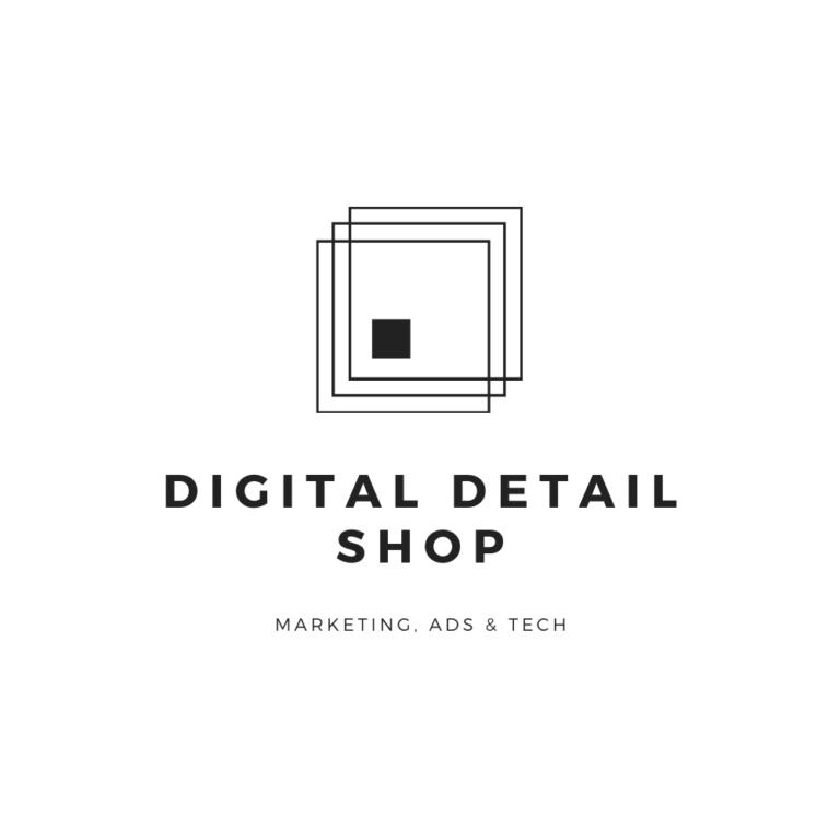 logo for digital detail shop